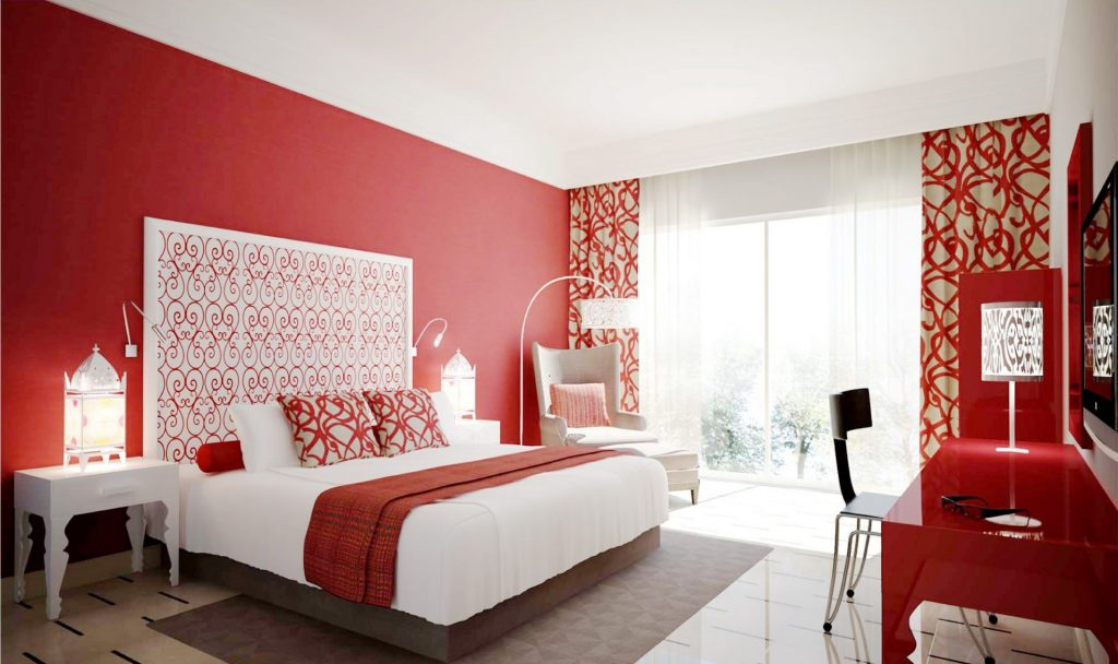 These Red Bedrooms Are Better for Feng Shui - Dream Home Ideas